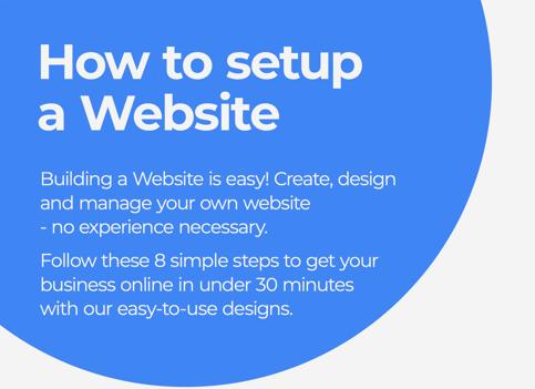 Website Setup Infographic